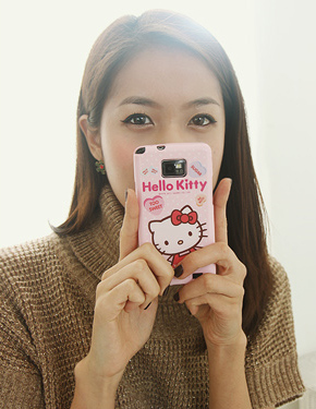 "<font color=""#ffffff"">フォンケース</font> hello kitty case(PA017)[6Type]"